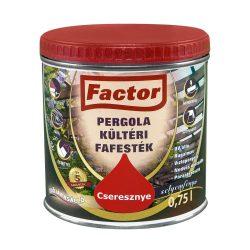 FACTOR PERGOLA KÜLTÉRI FAFESTÉK-FEHÉR-0,75 L